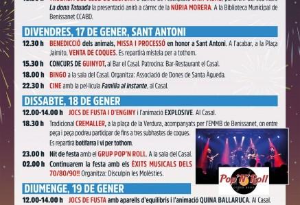 FESTES MAJORS DE SANT ANTONI 2020
